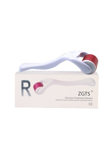 Zgts Dermaroller 0.25 mm Orijinal Titanyum 540 İğneli Derma Roller Saç Yüz Vücut Bakımı Renksiz